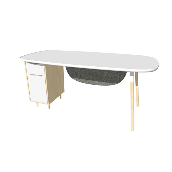 organika-single-desk-with-fixed-pedestal-and-curved-modesty-panel