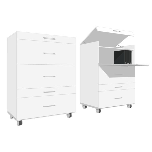 Calculus-multifunctional-storage-unit,-1400H-x-1020W-x-620D-crop