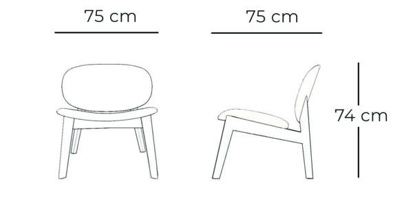 Ergoform office furniture Earth Chair dimensions