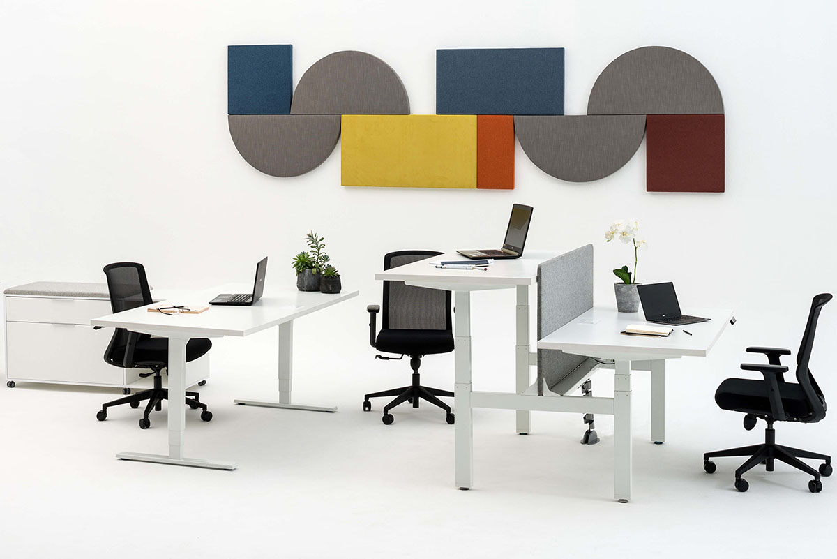 Ergoform furniture for the new office